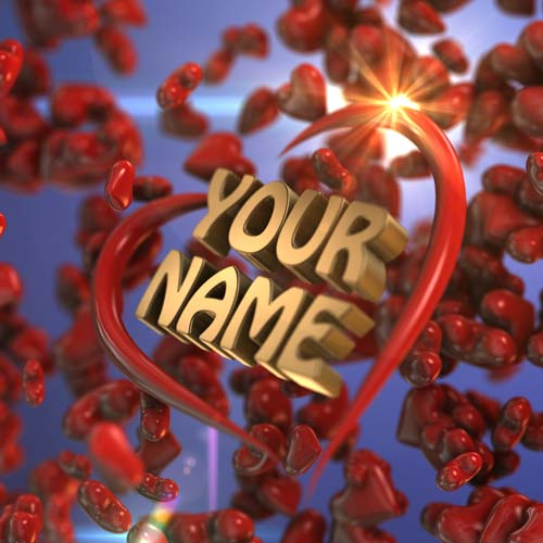 Get Your Name in 3D