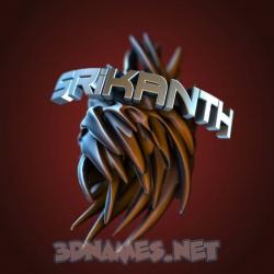 srikanth 3d name