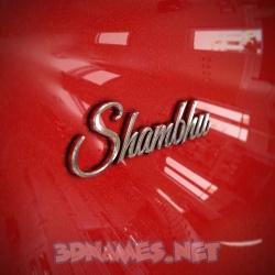 shambhu name 3d