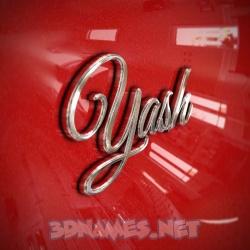 yashi name 3d