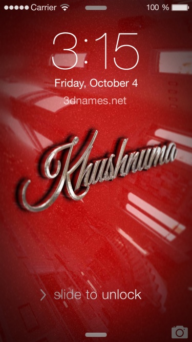 khushnuma name