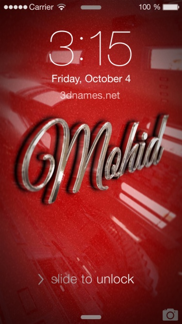 mohid 3d name