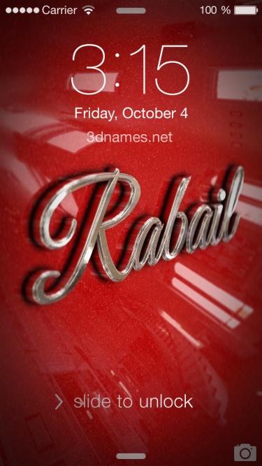 rabail name