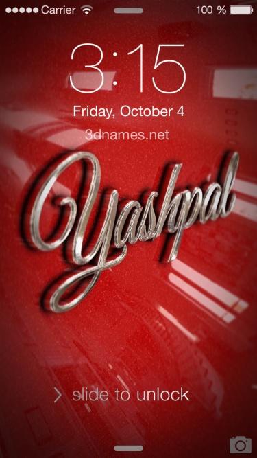 yashpal name