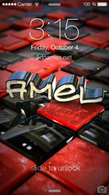 Preview of 'Red Checkered' for name: amel