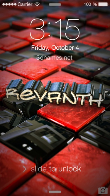 revanth name