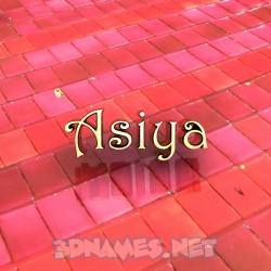asiya 3d name