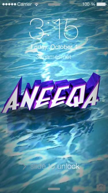 aneeqa name