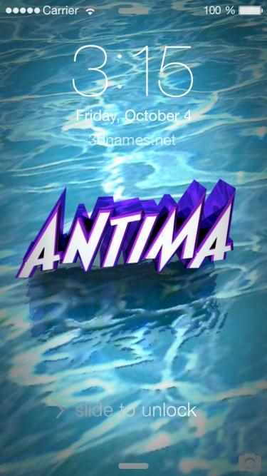 antima name love