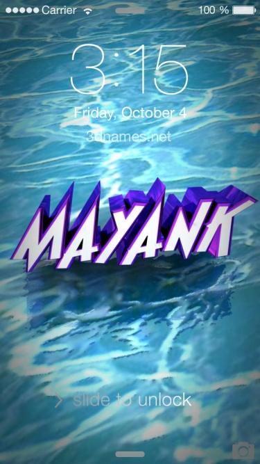 mayank name
