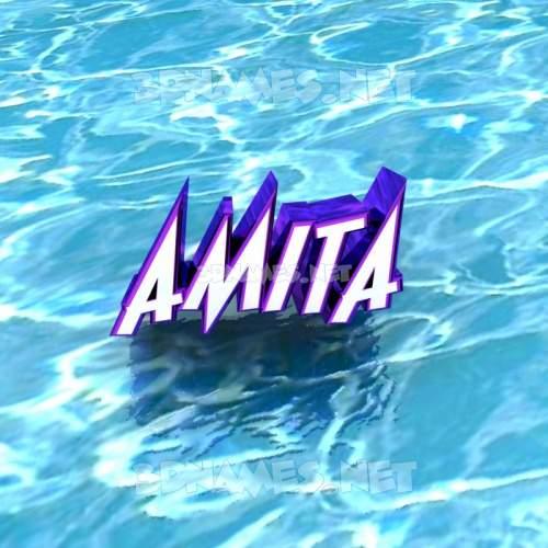 amita 3d name