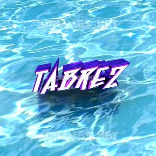 tabrez 3d name