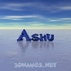 ashu 3d name