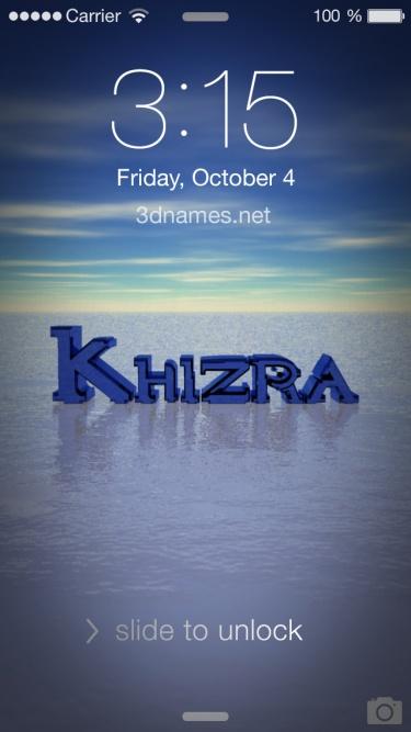 khizra name