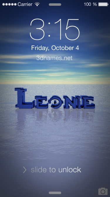 Preview of 'Horizon' for name: leonie