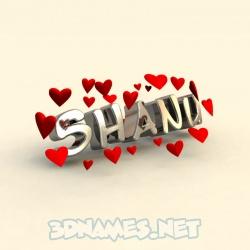 shanu name hd