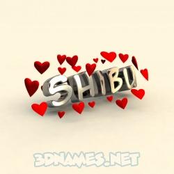 shibu name 3d