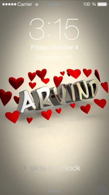 aravindh name style