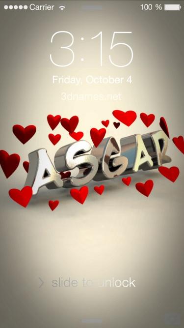 asgar name