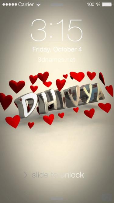 dhivya name