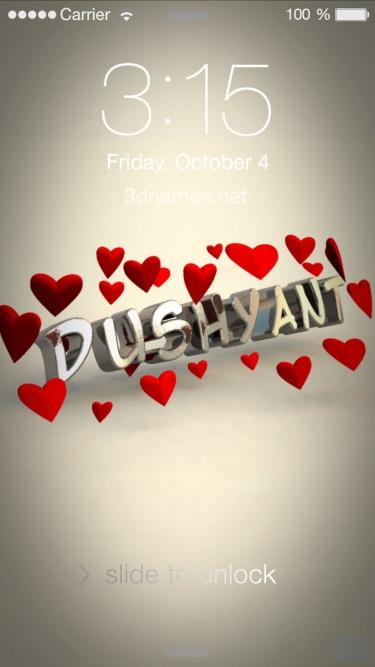 dushyant name hd