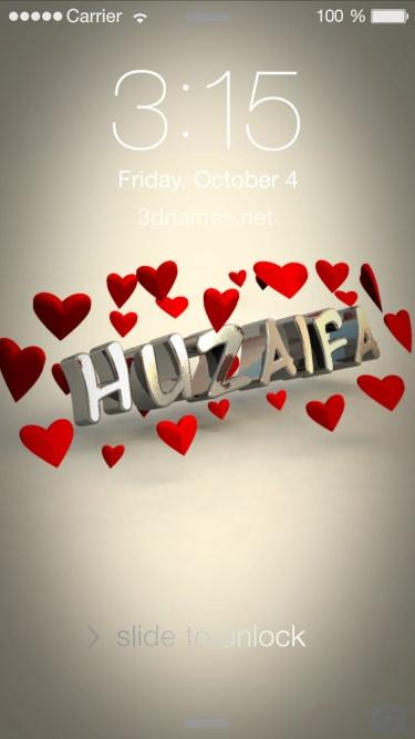 name huzaifa