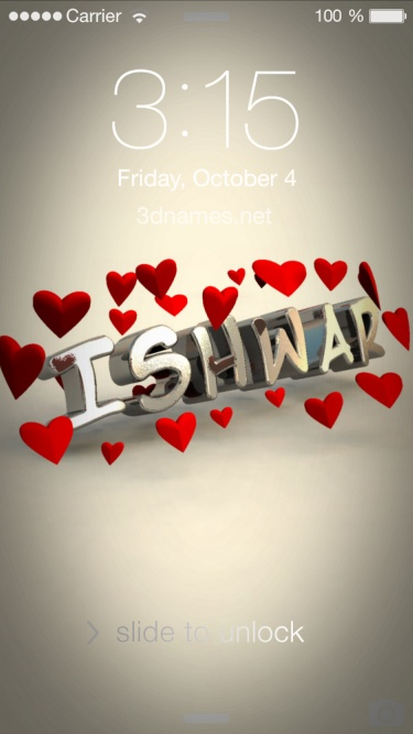 ishwar 3d name