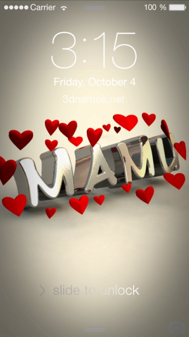 Preview of 'In Love' for name: MAMU