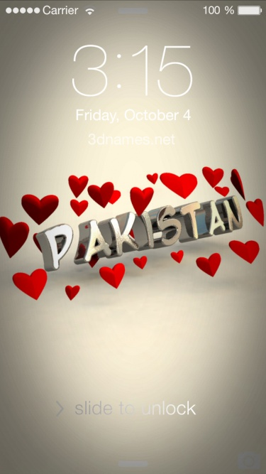 Preview of 'In Love' for name: pakistan