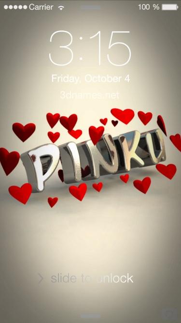 pinku 3d name