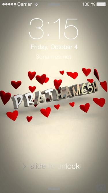 prathmesh name