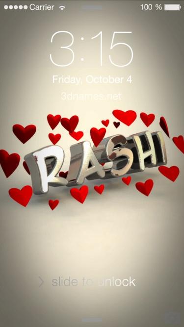 Preview Of In Love For Name Rashi