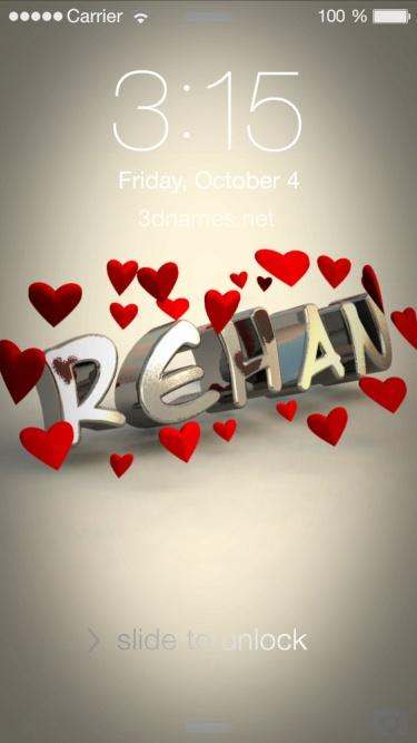 rihan 3d name
