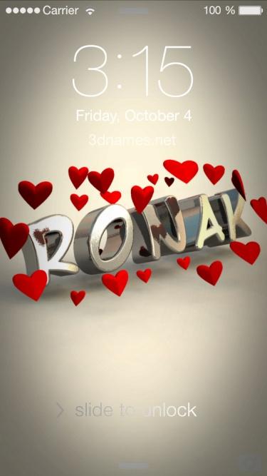 ronak name