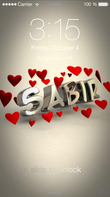 sabir khan name