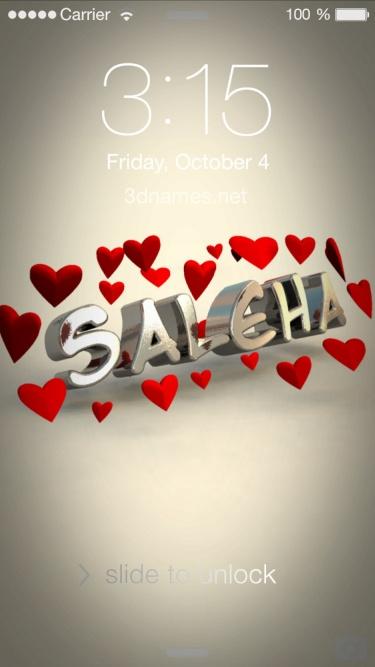 saleha name