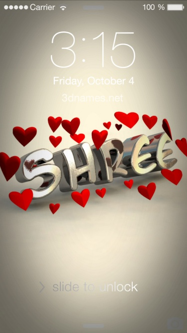 Preview of 'In Love' for name: shree