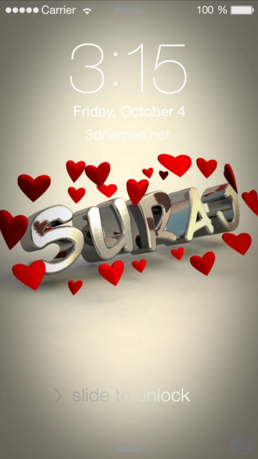 Preview of 'In Love' for name: Suraj