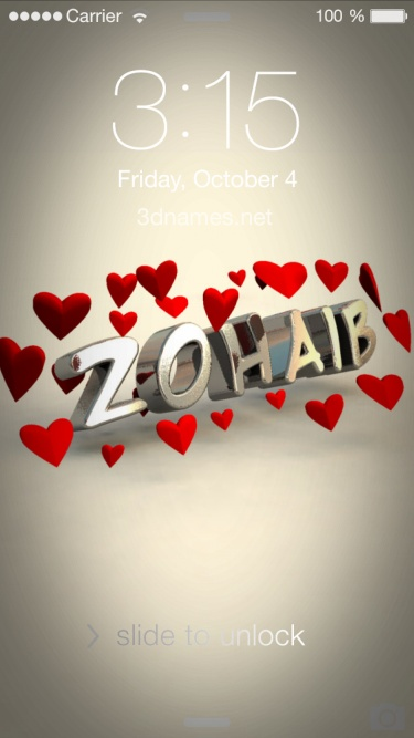 zohaib name