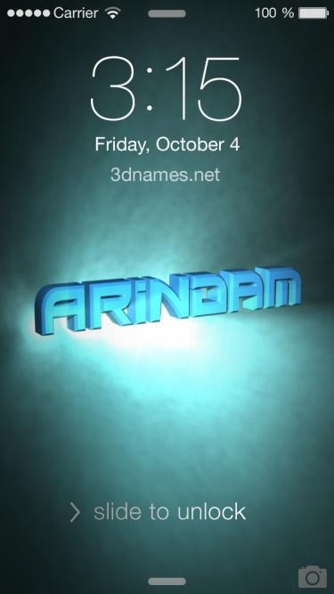 arindam name hd