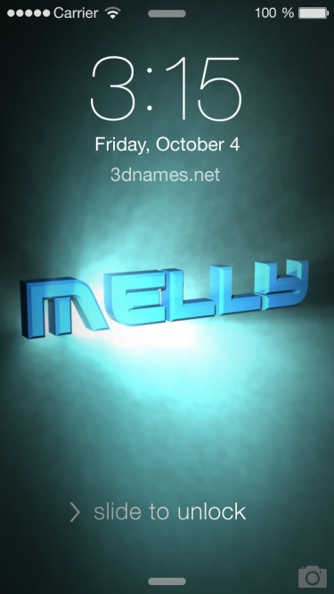 Preview of 'Light Shine' for name: melly