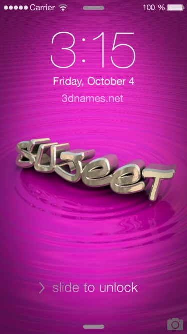 sujeet 3d name