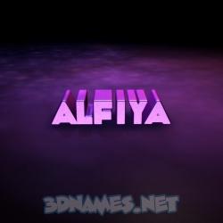 alfiya name hd