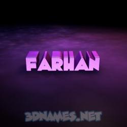 23 3D images for Farhan