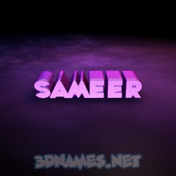 28 3D images for Sameer