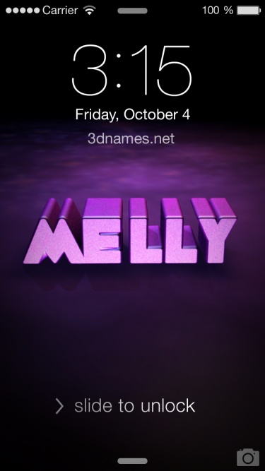 Preview of 'Big Purple' for name: Melly