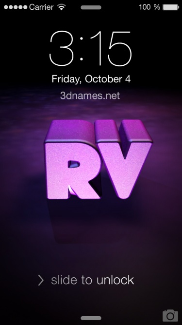 Preview Of Big Purple For Name Rv