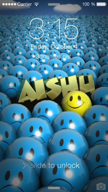 aishu 3d name