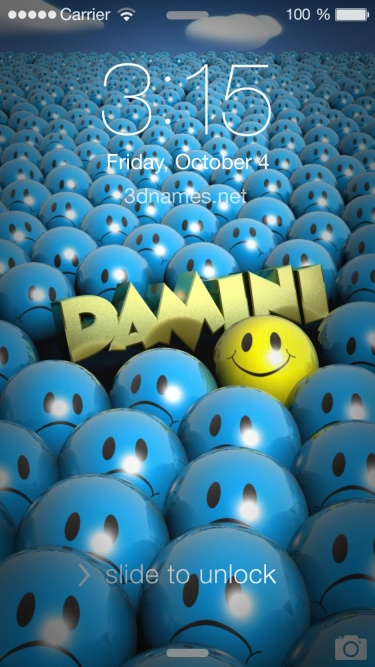 damini 3d name