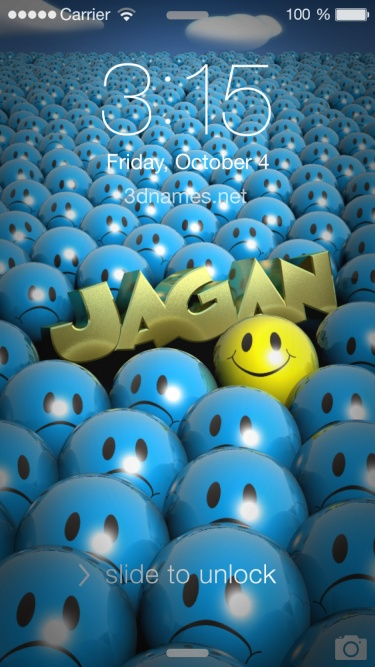 Preview of 'Special Smileys' for name: Jagan